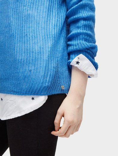 Tom Tailor Denim Strickpullover Pullover in Mohair-Optik