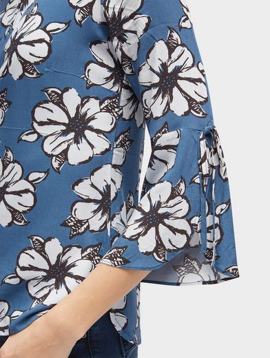 Tom Tailor Shirtbluse Bluse mit floralem Muster