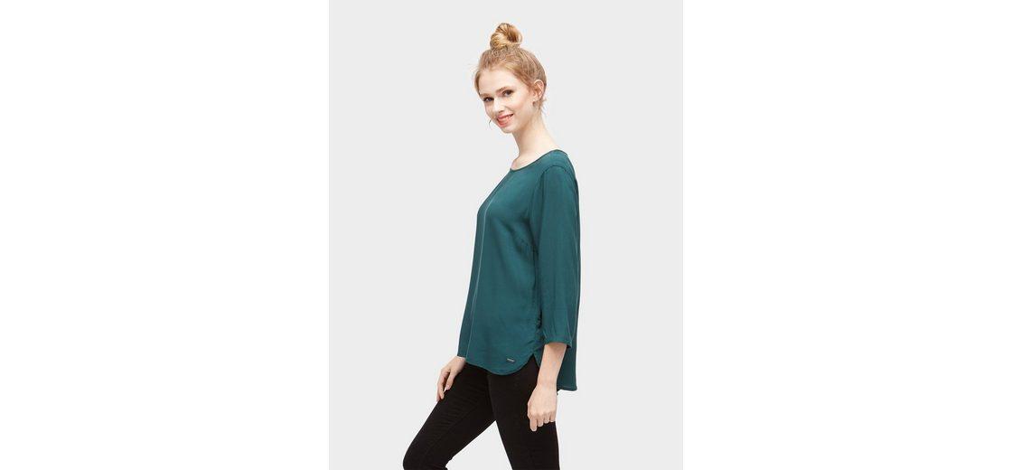 Denim Denim schlichte Tailor 3 Tom Arm Tailor Bluse Shirtbluse Shirtbluse 4 Tom 0qETTX