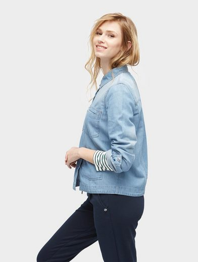Tom Tailor Denim Langarmbluse Jeanshemd Relaxed Fit