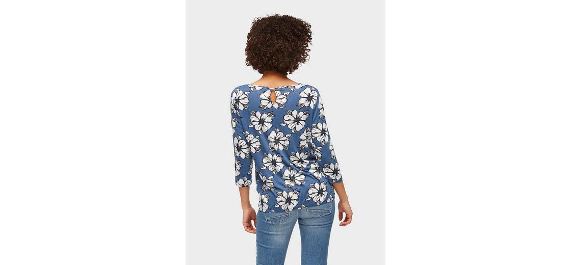 Tom Tailor 3/4-Arm-Shirt Shirt mit elastischem Bund Erhalten Online Kaufen xyxR8K