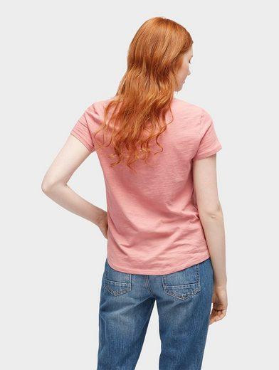 Tom Tailor Denim T-Shirt T-Shirt mit Print vorne