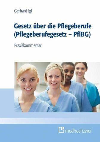Broschiertes Buch »Gesetz über den Pflegeberuf...«