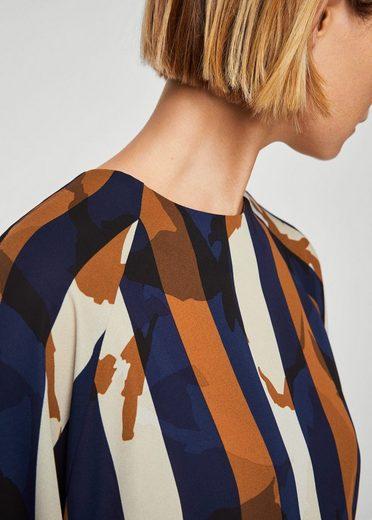 Mango Blouse In Pattern-mix