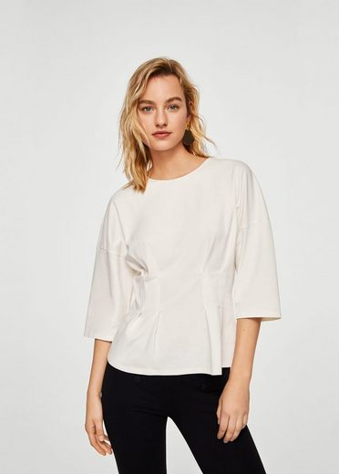 Mango T-shirt With Fold Details