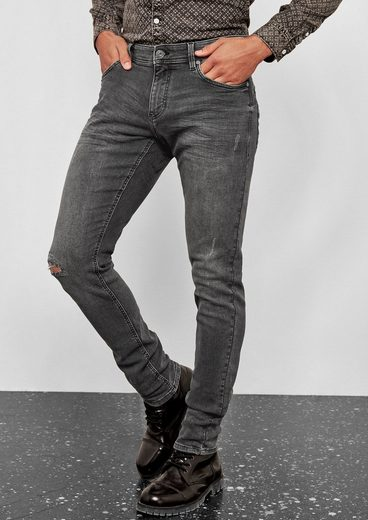 Q/S designed by Gavin Skinny: Used-Jeans