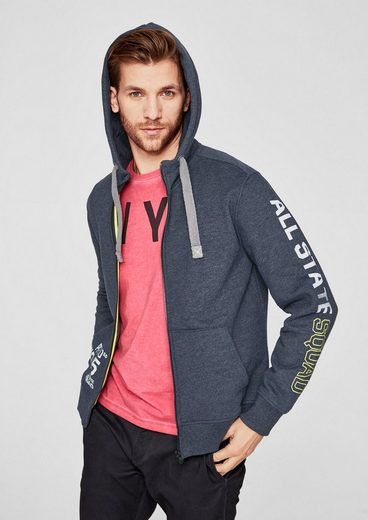 s.Oliver RED LABEL Tall Size: Sweatshirt-Jacke mit Kapuze