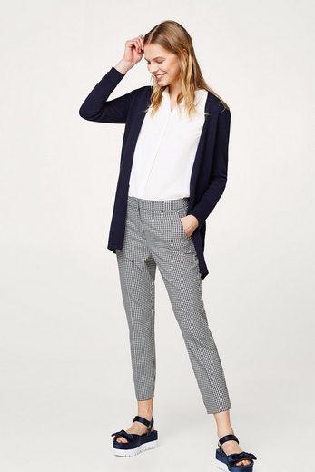 ESPRIT Struktur-Cardigan aus 100% Baumwolle