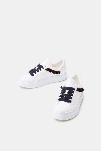 ESPRIT Trend-Sneaker mit Rüschen-Details