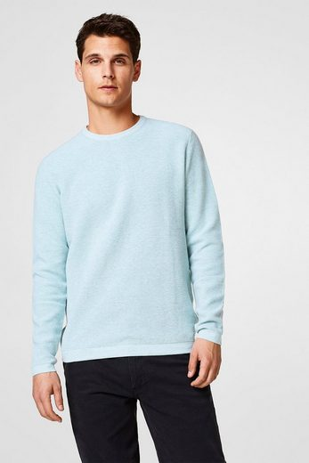 ESPRIT COLLECTION Softer Pullover aus feinem Struktur-Strick
