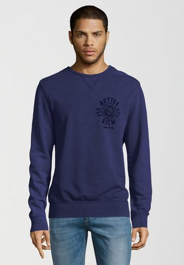 Better Rich Sweatshirt »UNIVERSITY ACID« Vintage-Färbung