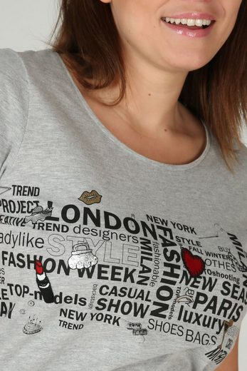 Paprika Print-Shirt