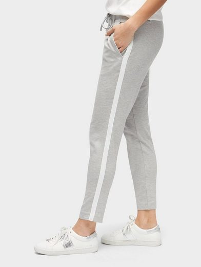 Tom Tailor 7/8-Hose Loose-Fit Hose mit seitlichem Tape