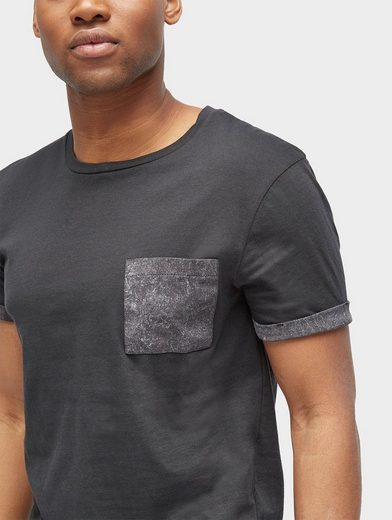 Tom Tailor Denim T-Shirt T-Shirt mit Brusttasche