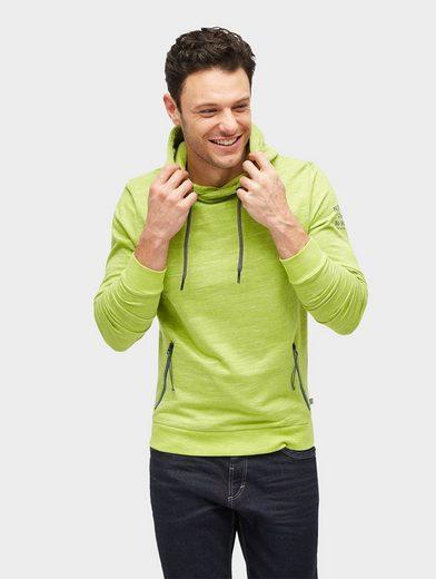 Tom Tailor Kapuzensweatshirt Hoodie mit farbigen Details