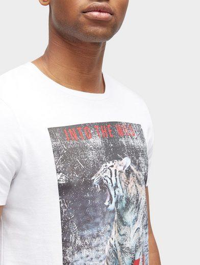 Tom Tailor Denim T-Shirt T-Shirt mit Foto-Print