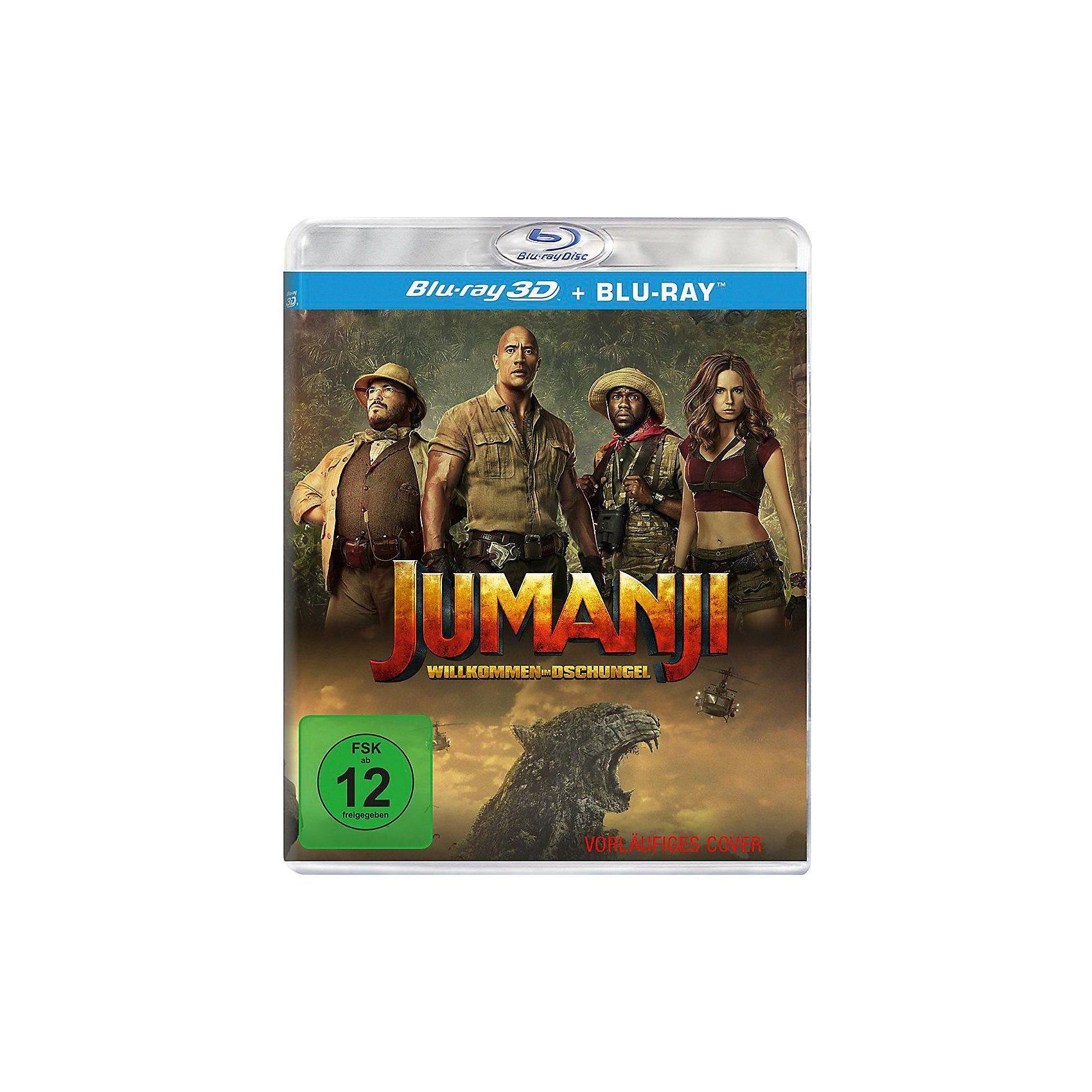 Sony BLU-RAY Jumanji: Willkommen im Dschungel 3D