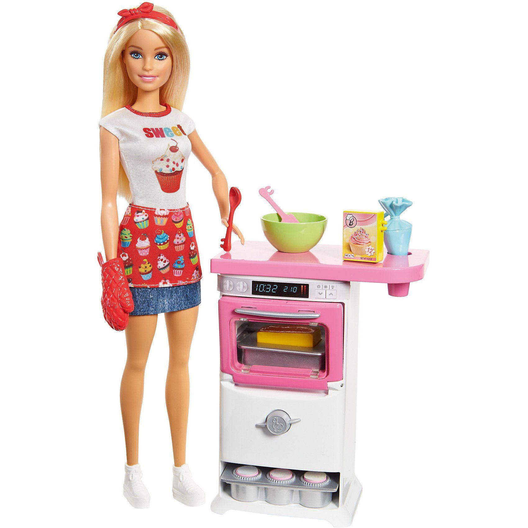 "Mattel® Barbie ""Cooking & Baking"" Bäckerin Puppe & Spielset"