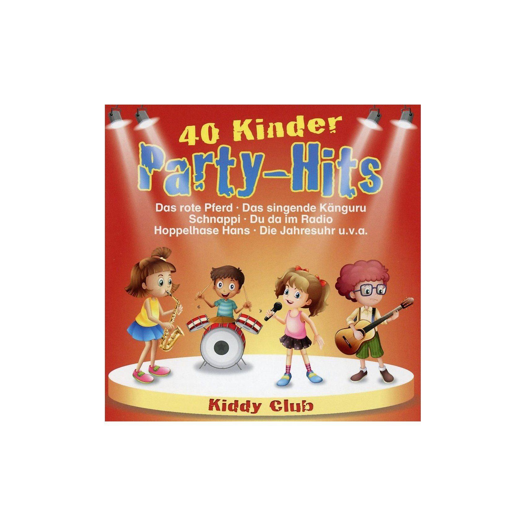 CD Kiddy Club - 40 Kinder Party Hits