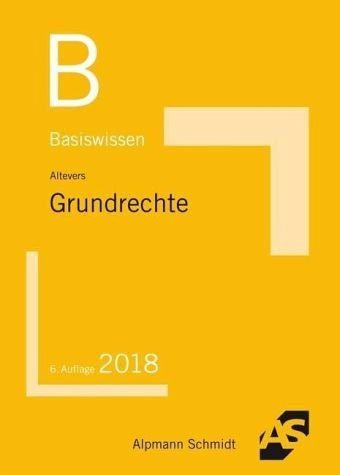 Broschiertes Buch »Basiswissen Grundrechte«
