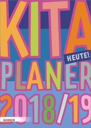 Broschiertes Buch »Kita-Planer 2018/2019«