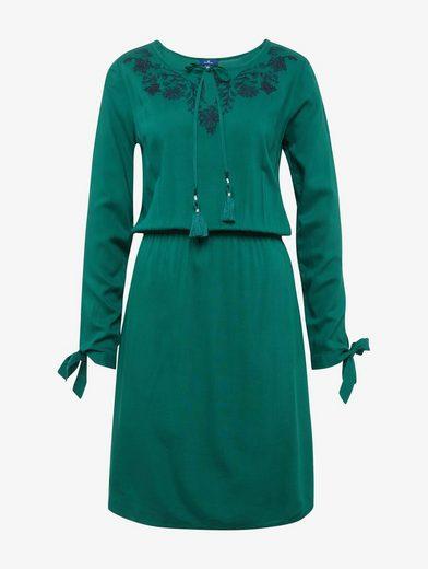 Tom Tailor A-Linien-Kleid Kleid mit floraler Stickerei