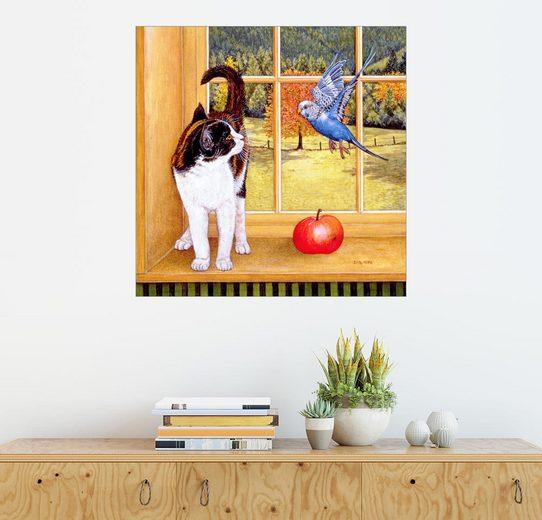 Posterlounge Wandbild - Ditz »Vogelbeobachtung«