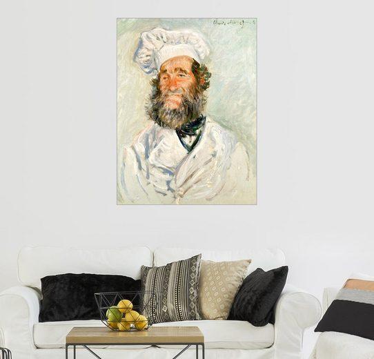 Posterlounge Wandbild - Claude Monet »Der Koch«