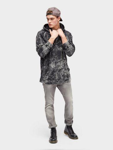 Tom Tailor Denim Hoodie Hoodie mit Lava-Waschung