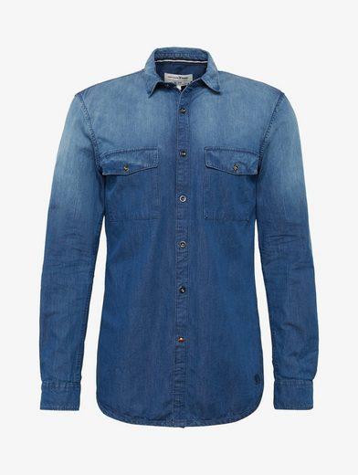 Tom Tailor Denim Hemd Hemd mit Motiv-Print