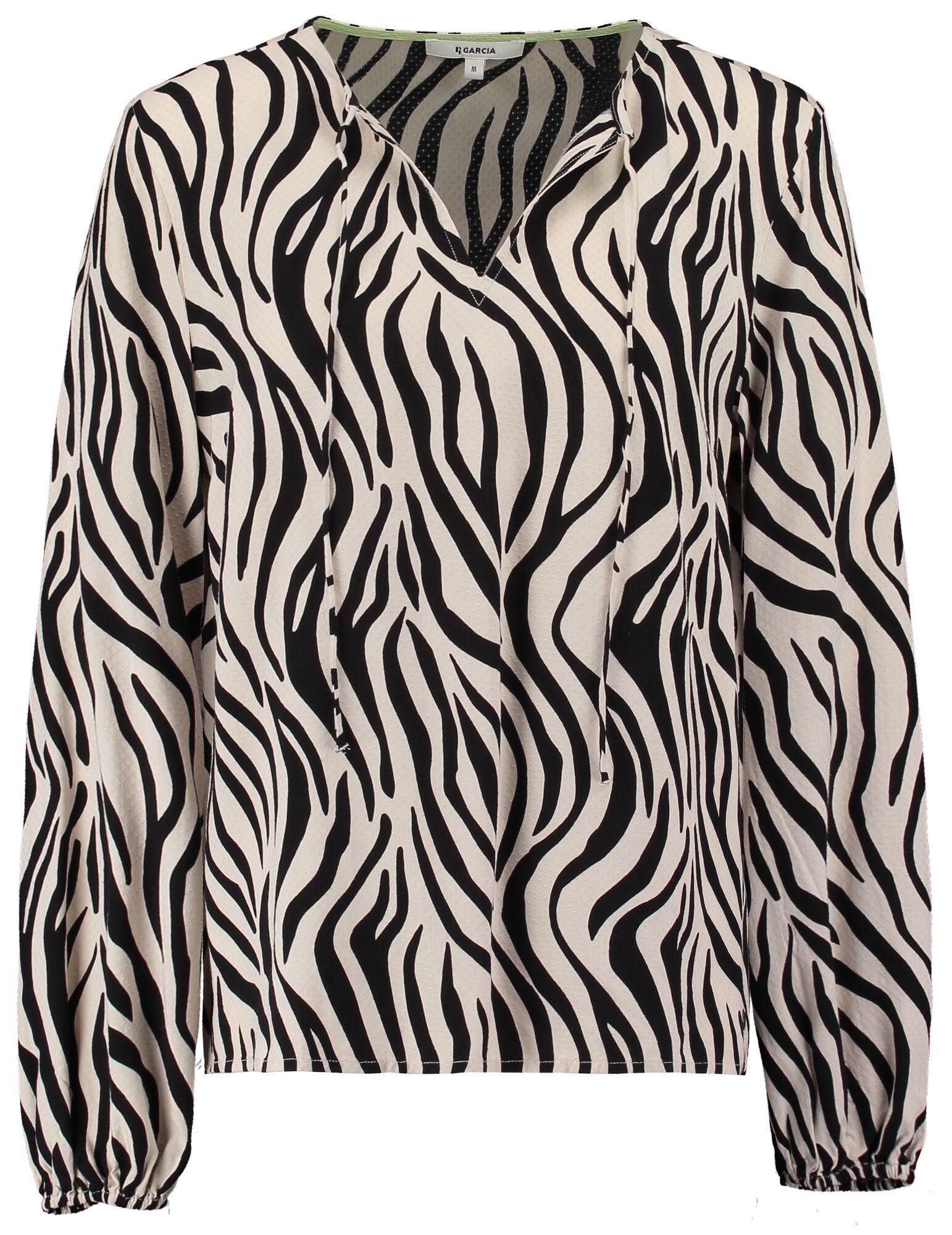 Garcia Klassische Bluse mit allover Print kaufen
