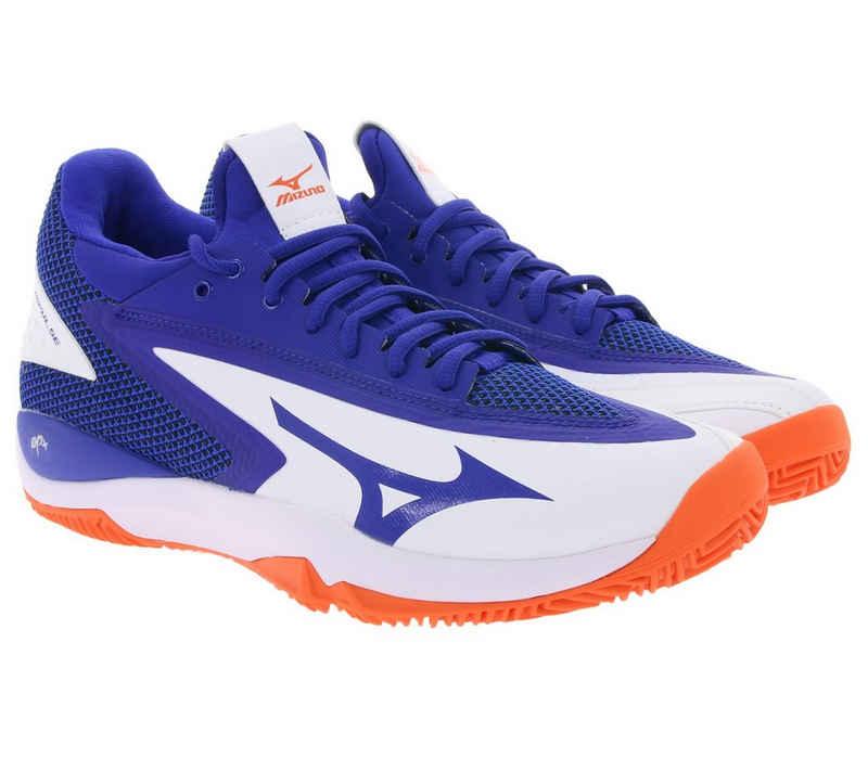 Mizuno »MIZUNO Tennisschuhe impulsive Herren Sportschuhe Wave Impulse CC Turnschuhe Freizeitschuhe Blau« Tennisschuh