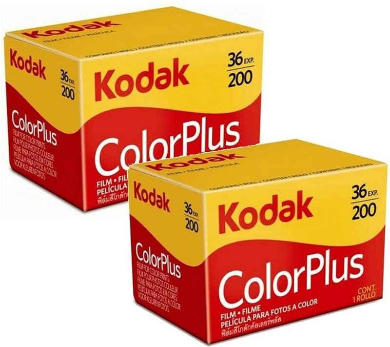 1A PHOTO PORST »2 x Kodak Color plus 200 135/36 Kleinbildfilm für« Superzoom-Kamera
