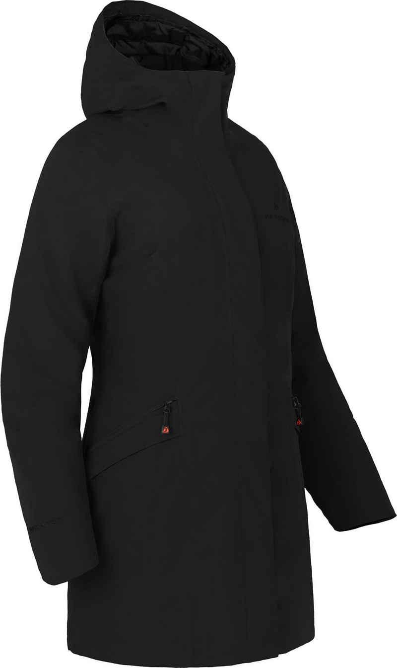 Bergson Wintermantel »JUSI« Damen Wintermantel, warm wattiert, 20000 mm Wassersäule, Kurzgrößen, schwarz