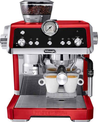 De'Longhi Espressomaschine La Specialista EC9335.R, Rot-Metallic - Der Barista für Zuhause mit smarten Funktionen