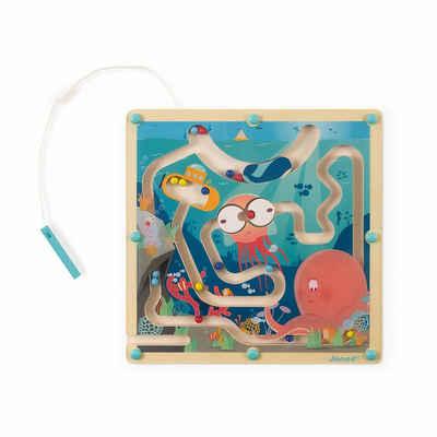 Janod Spielcenter »Magnetisches Labyrinth Ozean«