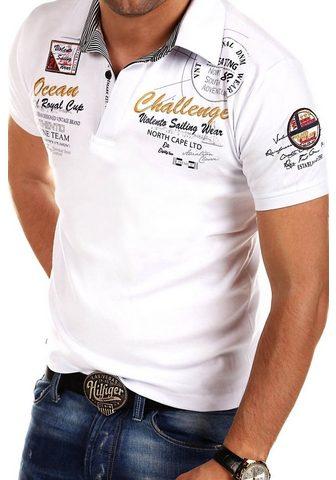 behype Polo marškinėliai »CHALLENGE« su sport...