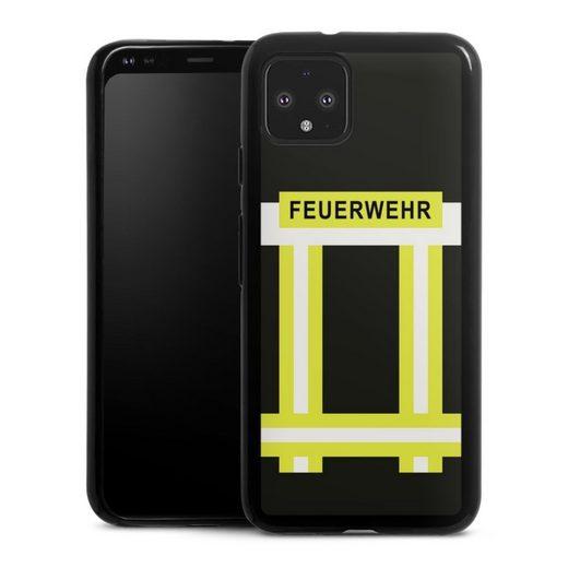 DeinDesign Handyhülle »Feuerwehr« Google Pixel 4, Hülle Feuerwehr Feuerwehrmann Beruf
