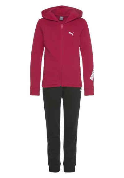 PUMA Jogginganzug »Hooded Sweat Suit Fleece«