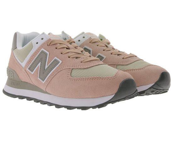 New Balance »New Balance Sneaker WL574 Turnschuhe trendige Damen Sneaker mit ENCAP-Sohle Sport-Schuhe Rosa« Sneaker