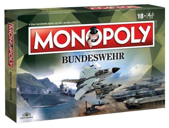 Winning Moves Spiel, Brettspiel »Monopoly Bundeswehr«