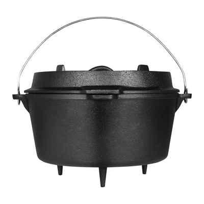 Ribelli Bratentopf, Dutch oven, schwarz, 9,5L