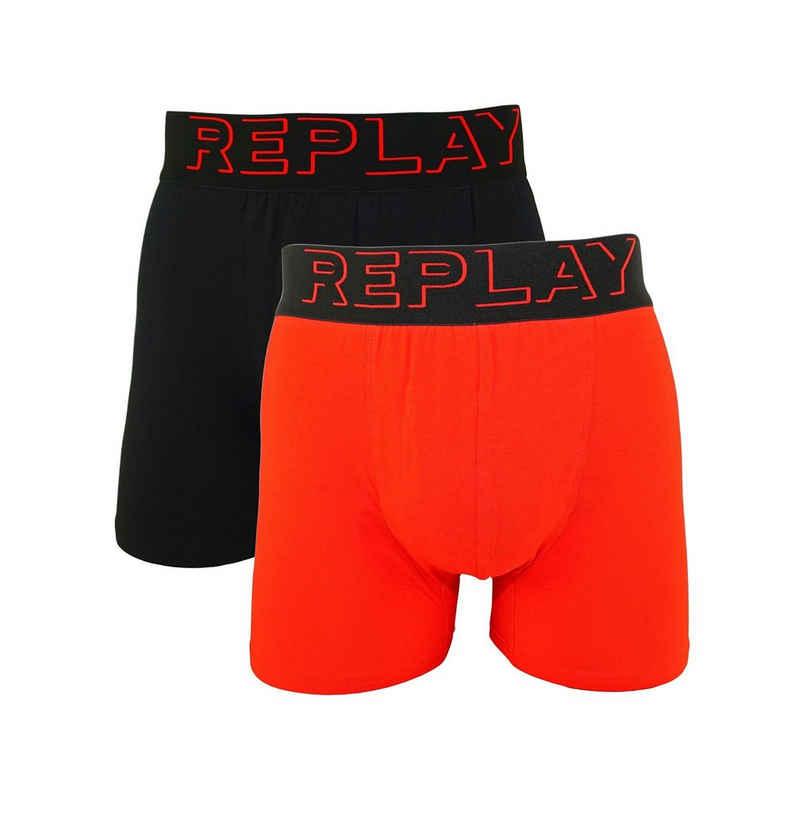 Replay Boxershorts »3D Logo« (2 Stück) in Box