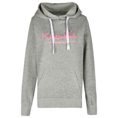 Michael Heinen Kapuzensweatshirt »Damen Hoodie >>Küstenkind<<« (1-tlg) Kuschel-Fleece-Fütterung