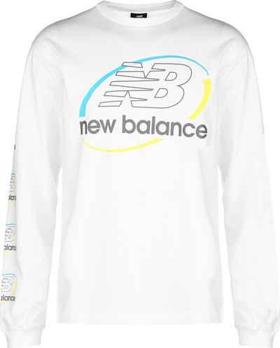 New Balance Longsleeve »Athletics Circular Stack«