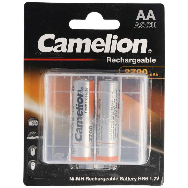 Camelion »AA, Mignon LR6, HR6, NiMH Akku mit bis zu 2700mAh« Akku