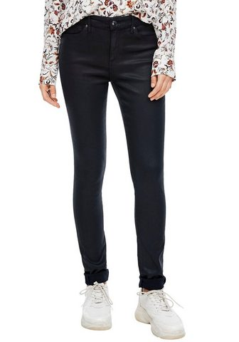 s.Oliver Skinny-fit-Jeans in blizgus Coated-Opt...