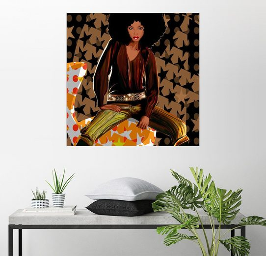 Posterlounge Wandbild - Mandy Reinmuth »soul sister #3«