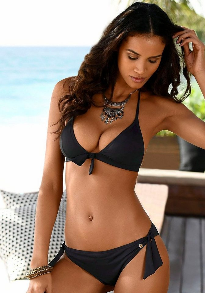 LASCANA Bikini Hose »Lola« mit Zierschleifen   OTTO 534dbe9345