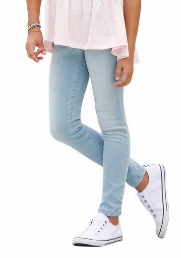 KangaROOS Stretch-Jeans in enger Schlupfform
